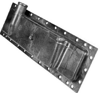 Бак радиатора тр. МТЗ-80 нижний (пластм.) (Кат. номер: 70п.1301.075)