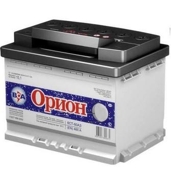 Аккумулятор  55а/ч  -=BCA ОРИОН=- г.Свирск (+ -) (Кат. номер: 245х175х190)