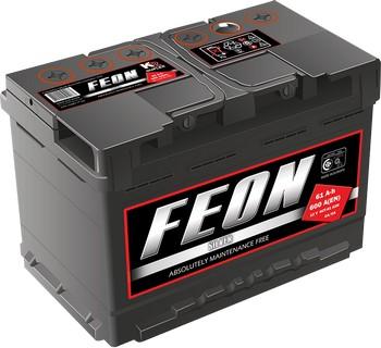 Аккумулятор  66а/ч  -=FEON=- Украина (+ -) (Кат. номер: ЦПС5310.412)