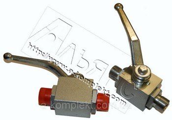 Кран гидравлический РВД кл.-S32 М27*1,5 (двухходовой) Agroimpuls (Кат. номер: 99.907)