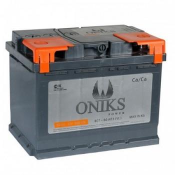 Аккумулятор  55а/ч  -=ONIKS=- г.Свирск (+ -) (Кат. номер: 242х175х190)