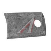 Вкладыш кронштейна з/рессоры УРАЛ (боковой) (Кат. номер: 375-2902453)