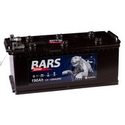 Аккумулятор 190а/ч  -=BARS Silver=- под болт (Кат. номер: 514х223х223)