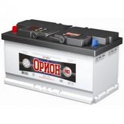 Аккумулятор  90а/ч  -=BCA-ОРИОН=- г.Свирск (пр.пол.) (+ -)