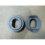 Втулка вварная пальца рессоры (овальная) 30,3х42,6/ d73.6x23 (аналог BPW) (Кат. номер: 0311323010/SA070/203)