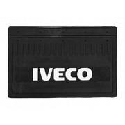 Брызговик IVECO 350*520 (резина, белая надпись) к-т (Кат. номер: DA-NP182)