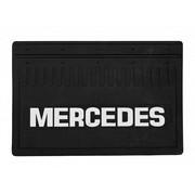 Брызговик Mercedes-Benz 350*520 (резина, белая надпись) к-т (Кат. номер: DA-NP176)