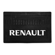 Брызговик Renault 350*520 (резина, белая надпись) к-т (Кат. номер: DA-NP174)