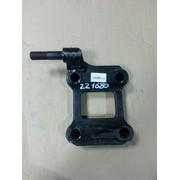 Опорная пластина рессоры правая с креплением под амортизатор (аналог BPW) (Кат. номер: 0503221680/401095)