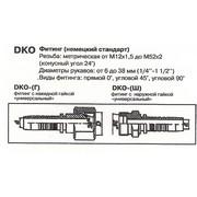 Фитинг РВД DKO.10.18*1.5 под ключ 22 угол 90°