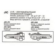 Фитинг РВД JIC 1/2 d8 угол 90°
