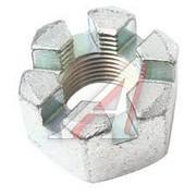 Гайка М18х1,5 (корон.) рулевого пальца УРАЛ АЗ*** (Кат. номер: 334837-П29)